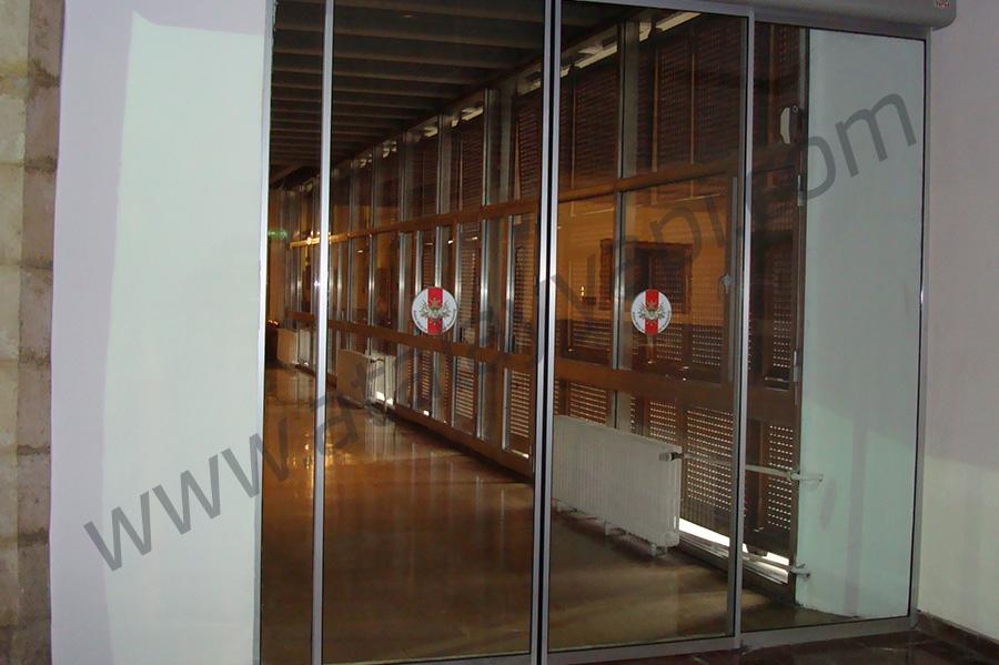 Harbiye Askeri Müze Fotoselli Otomatik Döner Kapı