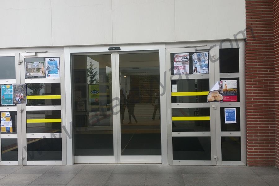 Sabancı Üniversitesi Fotoselli Otomatik Döner Kapı