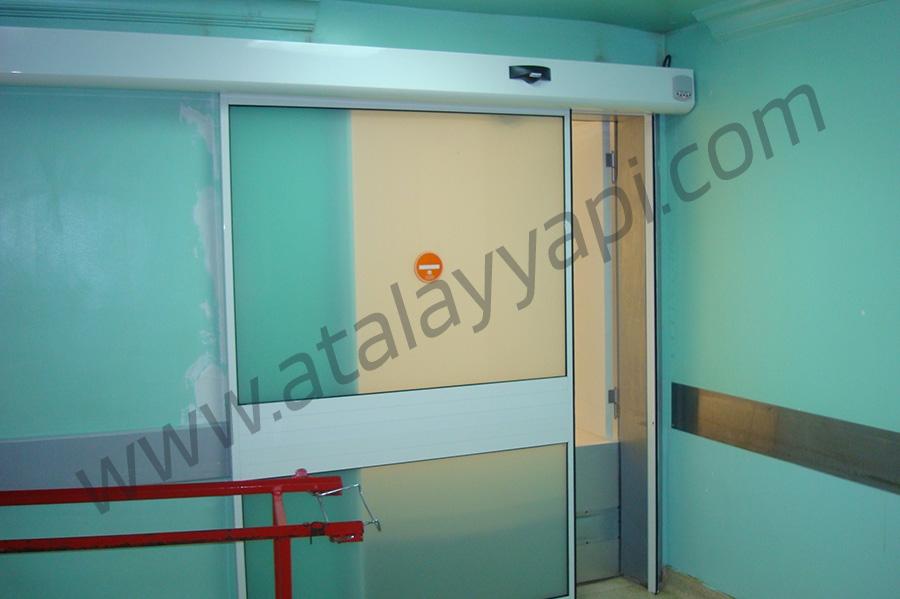 Şişli Etfal Hastanesi Fotoselli Otomatik Döner Kapı