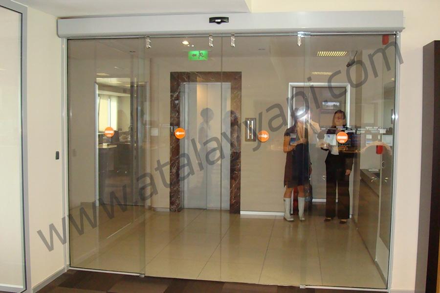 Tekstilbank Fotoselli Otomatik Döner Kapı
