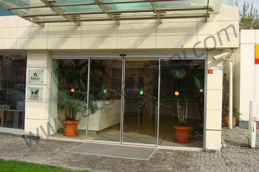 Kaman Holding Fotoselli Otomatik Döner Kapı