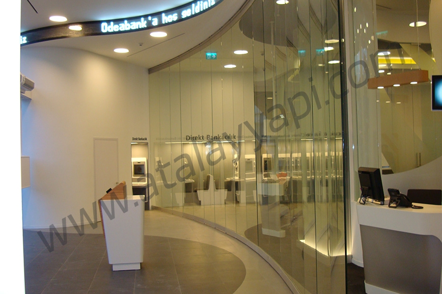 Odea Bank Fotoselli Otomatik Döner Kapı