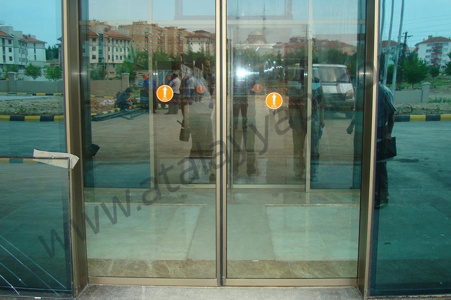 Acıbadem Hastanesi  Fotoselli Otomatik Döner Kapı